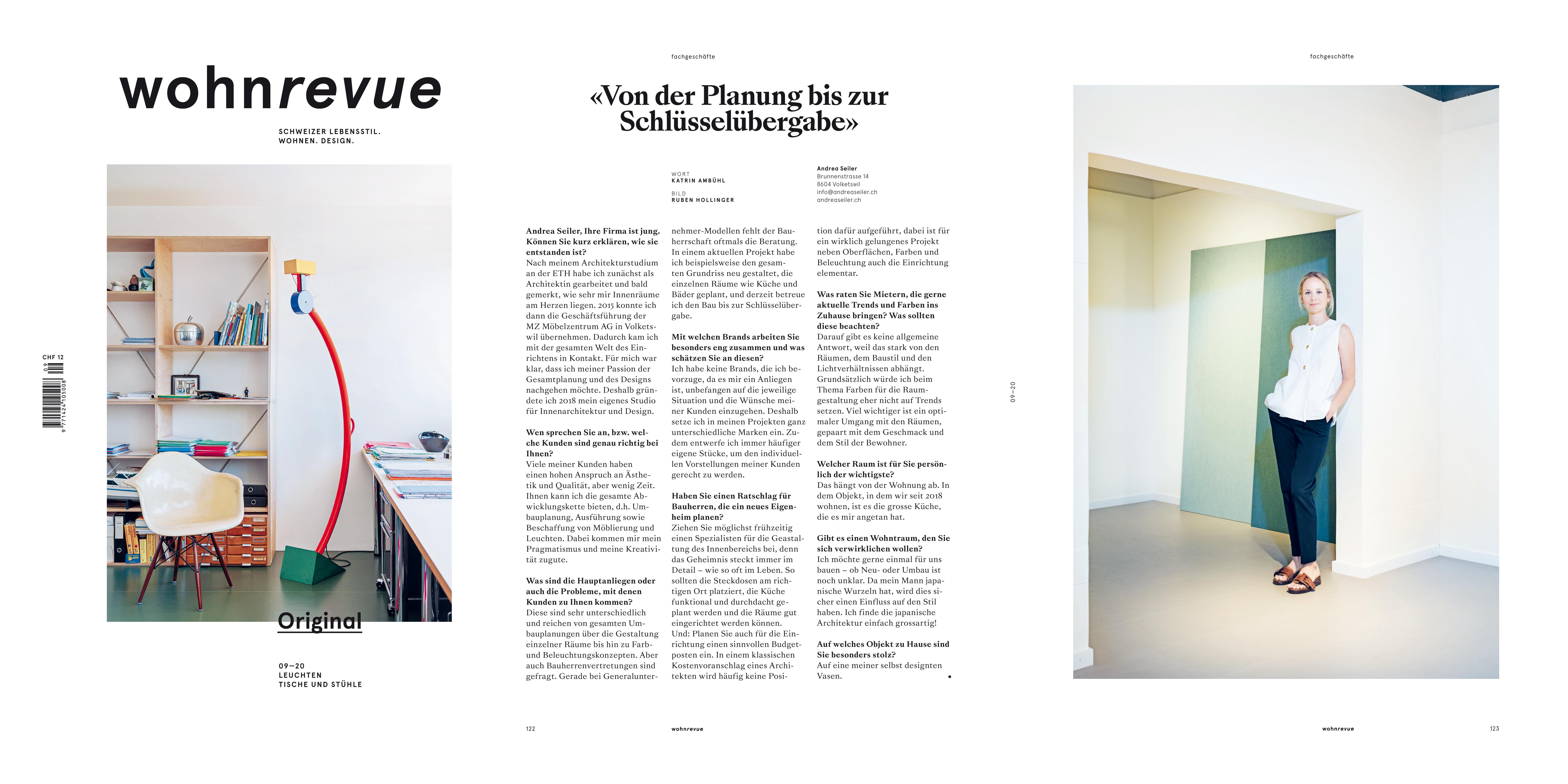 Interview Innenarchitektur Bauherrenvertretung